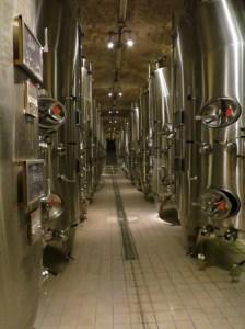 Champagne, la fermentation en cuves thermo-régulées