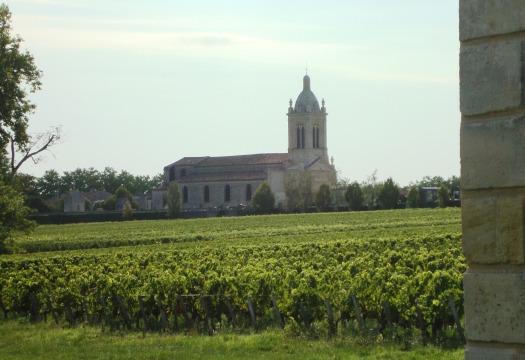 L'église paroissiale de Margaux