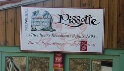 Pissotte Fiefs Vendéens, panneau Domaine Coirier