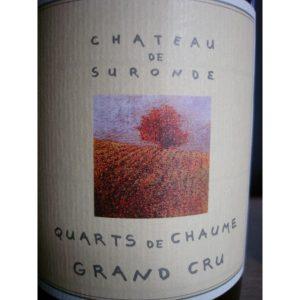 Quarts-de-Chaume Grand Cru, château de Suronde
