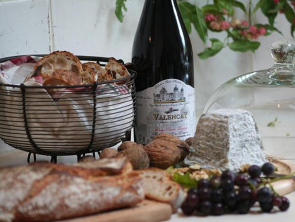 Fromage et vin, les 2 AOC de Valençay
