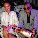 Beyoncé et le rappeur Jay-Z