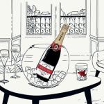 Nouveau dress-code pour le Champagne Mercier
