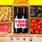 Foire aux vins Netto septembre 2017